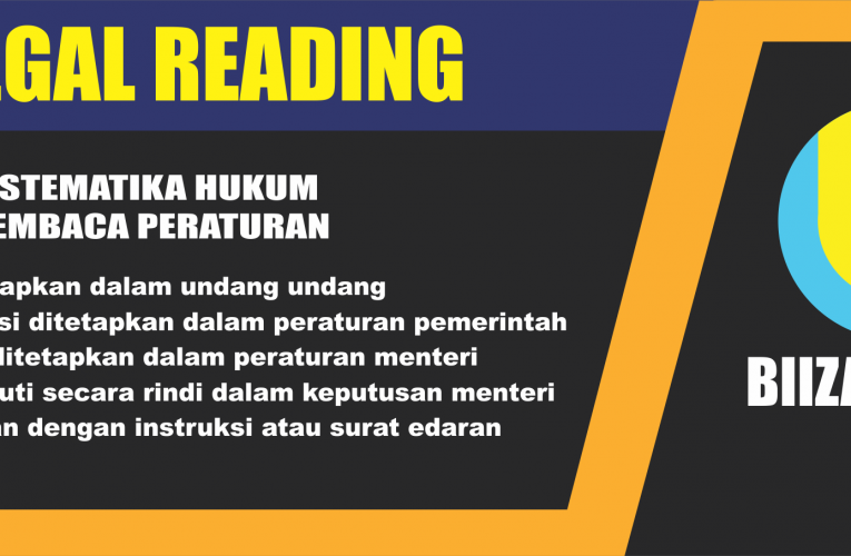 legal reading skill sistematikan undang undang